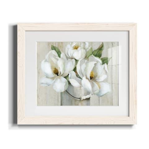 Shiplap Magnolias-Premium Framed Print - Ready to Hang