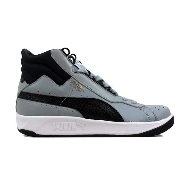 68156324d0f8 Shop Puma Men s Challenge Mid Quarry Black 358013 02 Size 7 - Free ...