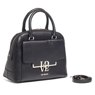 Moschino JC4022 0000 Black Satchel/Shoulder Bag