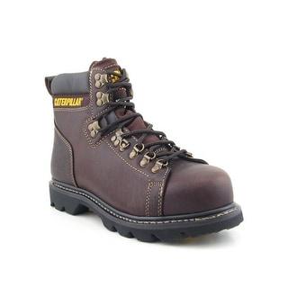 Caterpillar 89370 Alaska FX Men W Steel Toe Leather Brown Work Boot