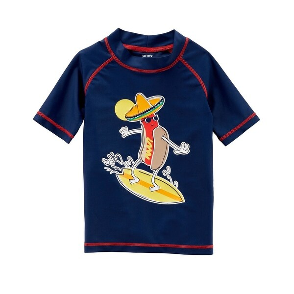 fcfcebc70f Shop Carter's Baby Boys' Hot Dog Rashguard, 12 Months - Free Shipping On  Orders Over $45 - Overstock - 27369016
