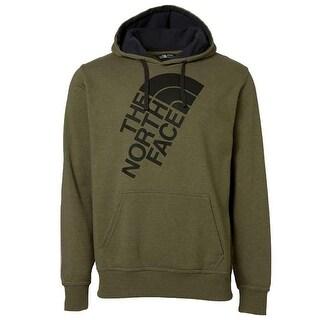 The North Face Men's Fleece Jumbo Half Dome Logo Graphic Hoodie Green