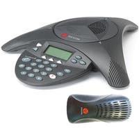 Polycom 2200-16000-001 SoundStation 2 Non-Ex Analog Conference Phone w/ LCD Display