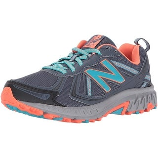 New Balance Women's Wt410v5 Cushioning Trail Running Shoe, Dark Grey, 8.5 D Us