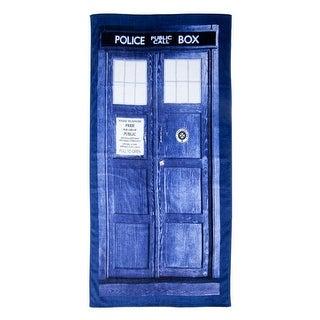 "Doctor Who Tardis 30"" X 60"" Beach Towel"