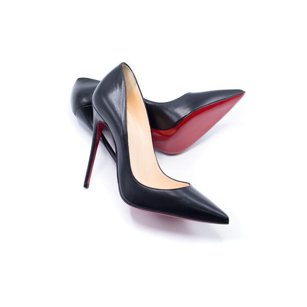 newest f1af0 4f917 Shop Christian Louboutin Women's Black So Kate Pumps 120 ...