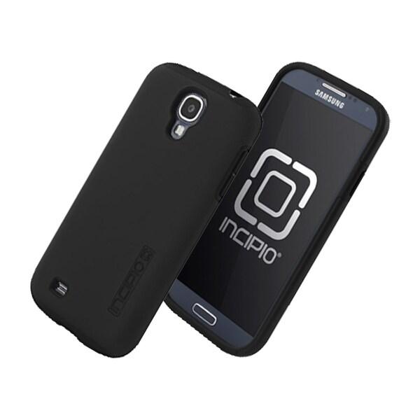 Incipio DualPro Shock-absorbent Case for Samsung Galaxy S4 - Black/Black