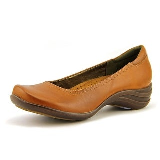 Hush Puppies Alter Pump W Round Toe Leather Loafer