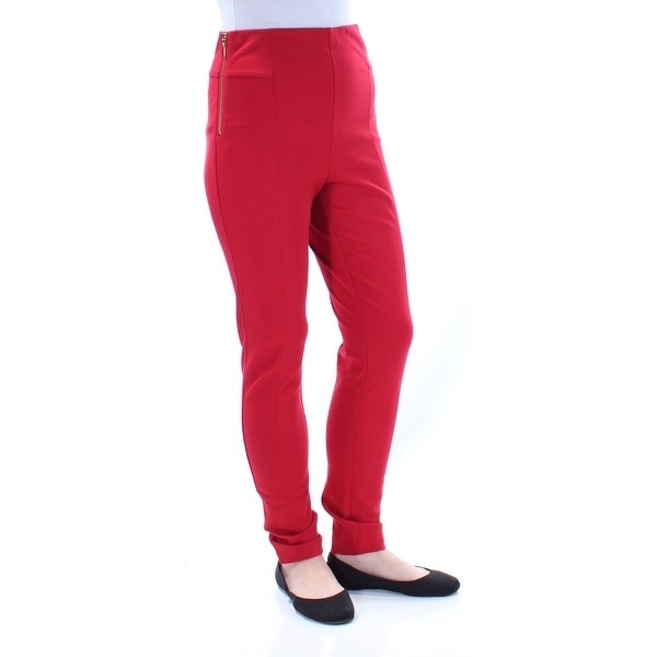 1cf0bedc5e9c9 Shop Womens Red Casual Pants Size 10 - On Sale - Free Shipping On Orders  Over  45 - Overstock.com - 22425630