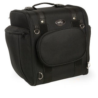 Large Textile Motorcycle Sissy Bar Travel Bag 14X16X11