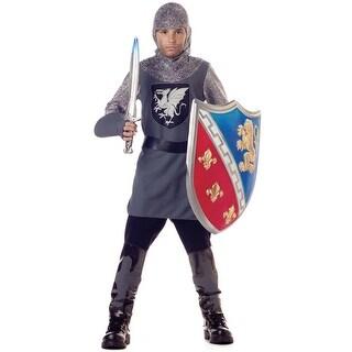 California Costumes Valiant Knight Child Costume - Grey