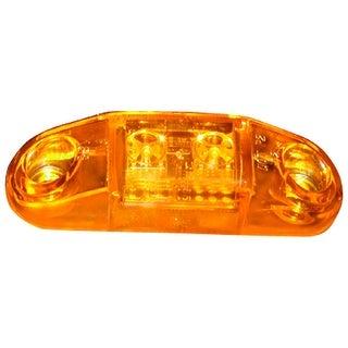 Piranha V168A LED Slim-Line Clearance/Side Marker Light, 8-16 V, Amber