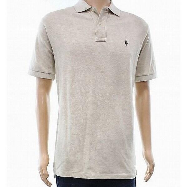 Ralph Lauren Short Mens Small S Polo Beige Size Shirt Sleeve 1lFKTJc