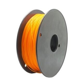 Premium 1.75 mm Computer 3D PLA Roll Filament Cartridge, Orange