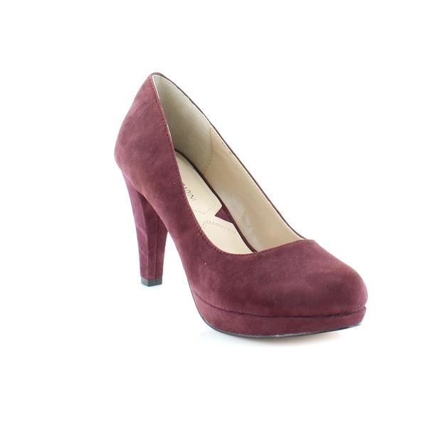 Adrienne Vittadini Prestin Women's Heels Merlot - 6.5