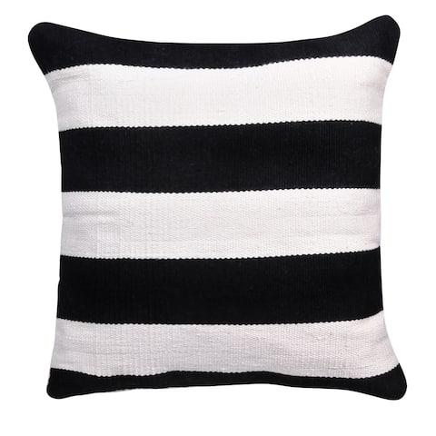 Handmade Nantucket Indoor/Outdoor Pillow (India)