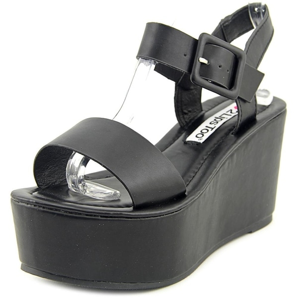 2 Lips Too Too Sasha Women Open Toe Synthetic Wedge Sandal