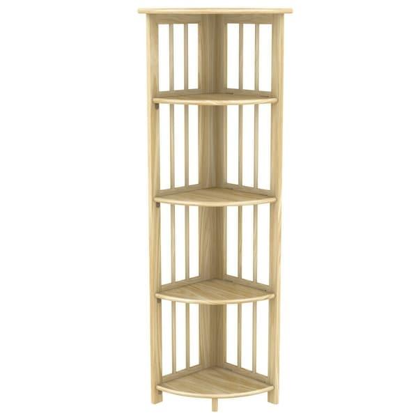 Stony Edge Corner Folding Bookcase. Opens flyout.