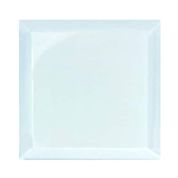 """Miseno MT-WHSFEG0808-CA Frosted Elegance - 8"""" Square Wall Tile - Glossy Visual - Blue"""