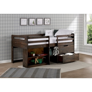 Link to Taylor & Olive Hyacinth Rustic Twin Low-loft Wood Bed Similar Items in Kids' & Toddler Furniture