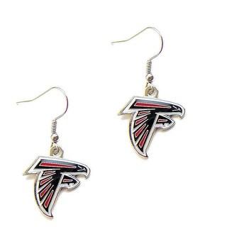 Atlanta Falcons Dangle Logo Earring Set Charm Gift NFL