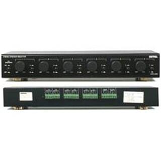 Sima Dual-Amp Multi-Zone Speaker Selectors with Volume Controls