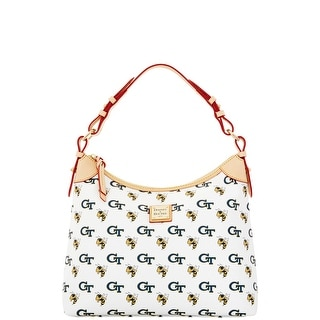 Dooney & Bourke NCAA Georgia Tech Hobo (Introduced by Dooney & Bourke at $218 in Nov 2014) - White