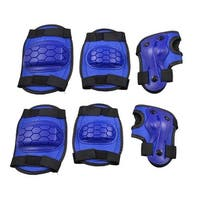 Skating Safety Protection Set Palm Wrist Guard Elbow Knee Pads for Children