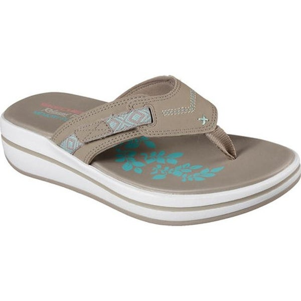 Skechers Women's Relaxed Fit Upgrades Moon Bay Thong Sandal