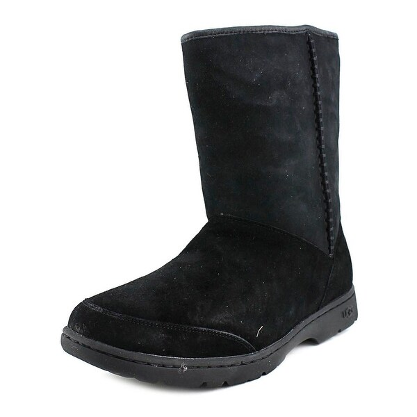 Ugg Australia Michaela Women  Round Toe Suede Black Winter Boot