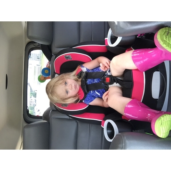 Shop Graco Azalea 4Ever Black Grey Pink Metal And Plastic All In One Car Seat