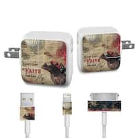 DecalGirl APCH-LOFAITH Apple iPad Charge Kit Skin - Leap Of Faith