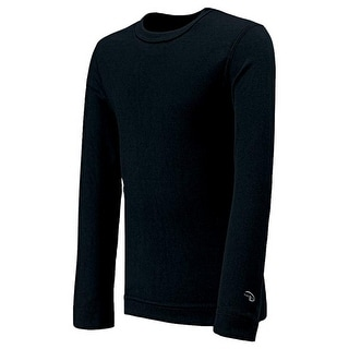 Duofold Varitherm Mid Weight Long Sleeve Youth Black Medium Kmc5 Bk Medium
