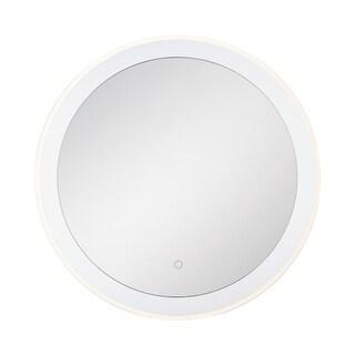 "Eurofase Lighting 33825 30"" x 30"" Circular Flat Lighted Vanity Mirror with Custo - N/A"