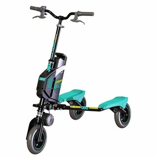 Trikke Go-Kiddo Colt GK-T6H-BK-COLT Electric Carving Scooter Black