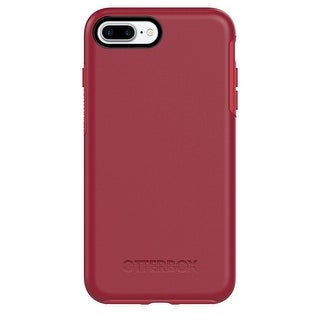 Rosso Corsa OTTERBOX Symmetry Series Case For iPhone 7 Plus & iPhone 8 Plus - Stylish Protection