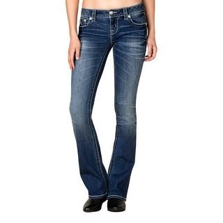 Miss Me Denim Jeans Womens Tapestry Boot Cut Medium JP7779B