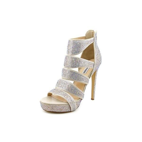 033549309a0 Shop Steve Madden Spycee Women Open Toe Canvas Platform Heel - Free ...