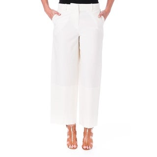 Elizabeth and James Womens Braun Crepe Flat Front Dress Pants