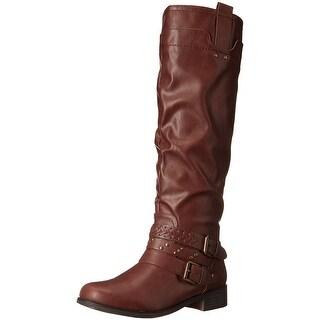 XOXO Women's Makena Wc Harness Boot - 6
