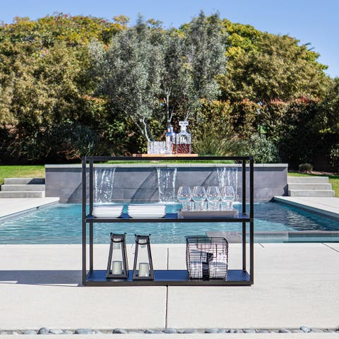 Outdoor Kitchen Series Counter Long - Stainless Steel
