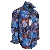 Robert Graham MAYAR Bold Paisley Print Classic Fit Cotton Sports Shirt