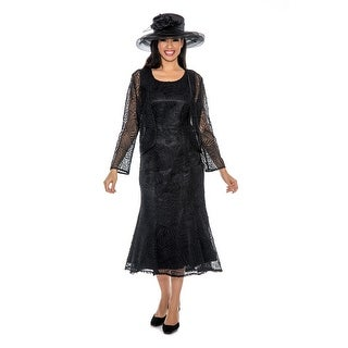 Link to Giovanna Signature Women's 2-piece Lace Jacket Dress Similar Items in Suits & Suit Separates