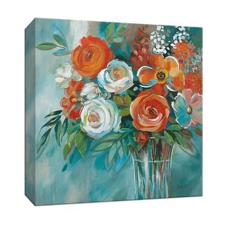 "PTM Images 9-147206  PTM Canvas Collection 12"" x 12"" - ""Spirit"" Giclee Flowers Art Print on Canvas"