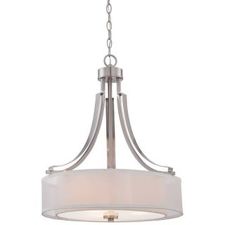 Minka Lavery 4104-84 3 Light Full Sized Pendant from the Parsons Studio Collection