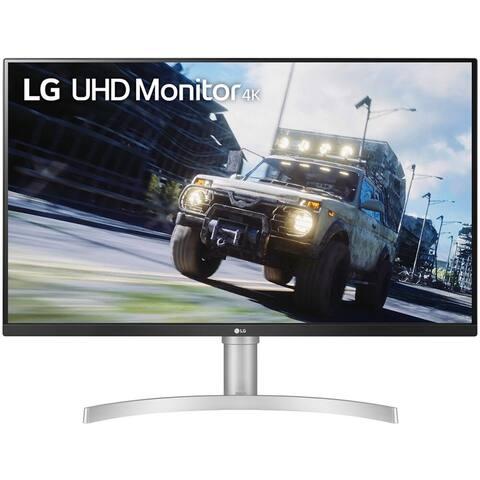 """LG 32UN550-W 31.5"""" 4K (3840x2160) 4ms LCD FreeSync Monitor,Black"""