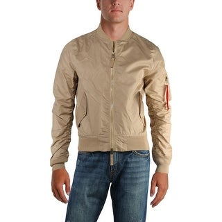 Ring Of Fire Mens Fly-Weight Bomber Jacket Fall Water Repellant - M