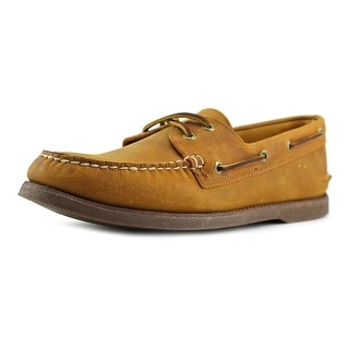 Sperry Top Sider A/O 2 Eye Moc Toe Suede Boat Shoe