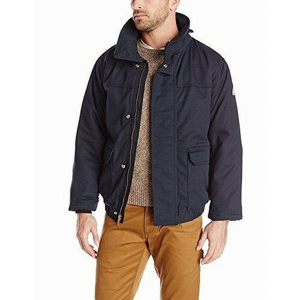 BULWARK Blue Mens Size Large L ComforTouch Insulated Bomber Jacket