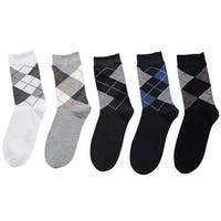 Mad Style Argyle 5pc Sock Set